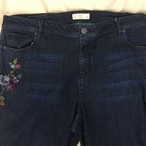 J Jill Authenic Fit Womens Jeans Size 20